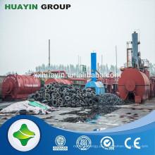 Alibaba site modelo pequeno 10 ton de óleo usado para refinaria de combustível diesel