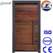 Puerta de madera sólida de diseño nuevo