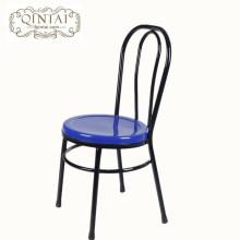 Wholesale China Alibaba mobiliário de metal de jantar café snack bar bistro cadeira de jardim ao ar livre