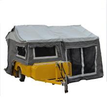 pequeño remolque de camping atv con tienda portátil de remolque camping