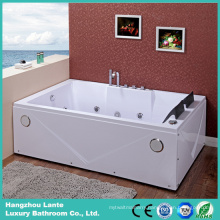 Indoor Straight Whirlpool Bath Bathtub (TLP-642)
