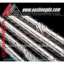 Pipe extruder screw barrel for plastic extruder Extrusora de tubo tornillo barril para extrusora de plastico COLMONOY Stellite B