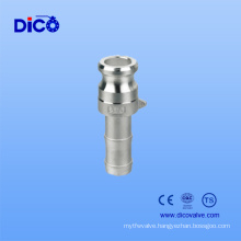 Camlock Coupling Type E Joint with Hose Nipple