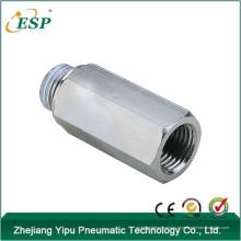 Válvula de retenção de compressor de ar Válvula de retenção de macho para fêmea