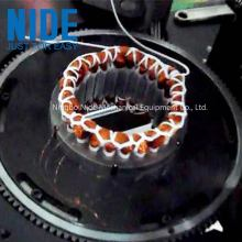 Induction motor stator atuoamtic  coil lacing machine