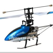 9016 4CH 2.4G RC sola lámina del modelo del helicóptero del metal