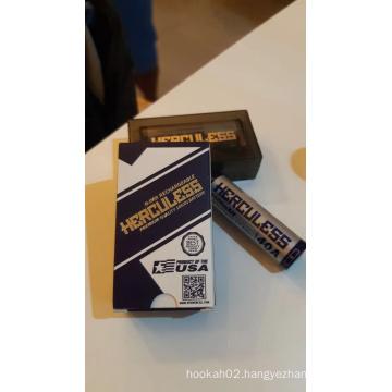 18650 E-cigarette Battery 3000mah 40AH can charge