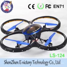 Novo produto 2.4G 4CH eixo 6 Gyro Mini helicóptero do RC Quadcopter com luz