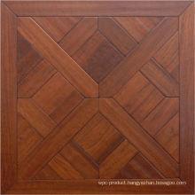 Engineered Solid Parquet Pattern Veneer Wood Floor