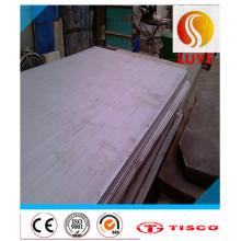 Plaque / feuille laminée à froid d'acier inoxydable (304 321 316L 310S 904L)