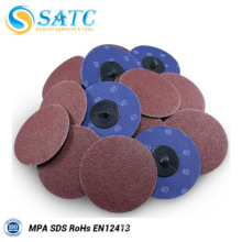 Size customized 60 grit quick change discs About