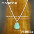 colliers pendentif collier de perles de cristal délicat à la main