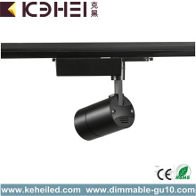 Aluminium 20W LED Track Lights Black Color 4000K