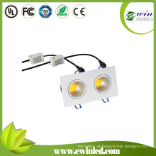 2X6watt Square LED Downlight mit CE RoHS