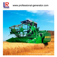 Water Cooling Full Hydraulic Rice Combine Harvester