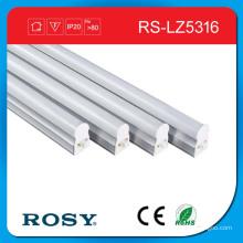 Tubes de zingage lumineux de LED de tube de soutien intégré par T5 lumineux