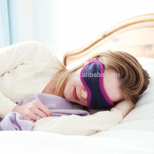 Luxury cashmere cotton blended anti wrinkle eye sleep mask