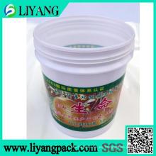 Película de transferencia de calor para cubo de fertilizante