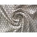 50d Football Style Polyester Satin Chiffon Fabric for Garment