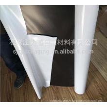Film d'emballage en polyéthylène blanc noir