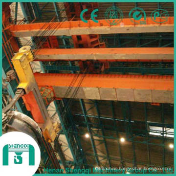 2016 Qy Insulation Overhead Crane with Hook Cap. 20/5 Ton