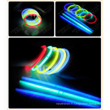 Bracelets de couleur unique 8 pièces Glow (SZD5200 / 8)