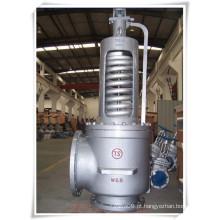 """Válvula de segurança de pressão de vapor de tamanho grande PSV (A48H-10 """")"""