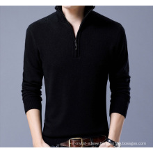 PK18ST085 half zip sweater man sweater pullover