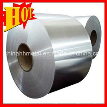 Venta caliente titanio tiras/láminas para el recubrimiento de