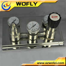 stainless steel nitrogen gas regulator