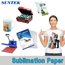 A3 A4 Roll Polyester Fabric Sublimation Heat Transfer Printing Paper