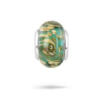 Cristal de Murano 925 cuentas de plata perlas joyas para pulsera