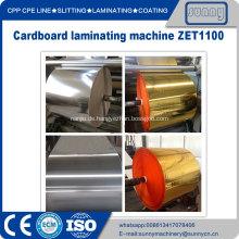 Gold Silber Pappe Beschichtung Maschine