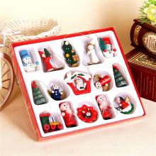 adornos de navidad al por mayor decorativos de madera