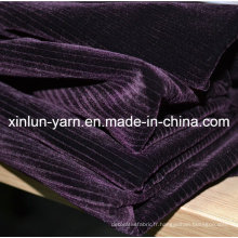 100% Tissu en polyester pour la fabrication de tissu souple / rideau
