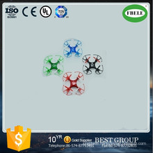 2016 High Quality Micro Remote Control Quadrocopter New Version Headless Mode Mini Quadrocopter with Frame Drone (FBELE)