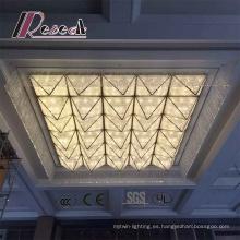 Lámpara decorativa moderna del proyecto del hotel del buen diseño para la sala de la prefunción