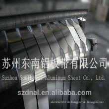 8011 Ho Streifen Aluminium für pharmazeutische Kappen China liefern