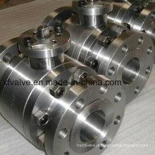 Válvulas de esfera com extremidade flangeada em aço forjado ANSI