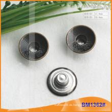 Metallknopf, kundenspezifische Jean-Knöpfe BM1362