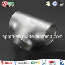 Stainless Steel Pipe Fittings Food Grade Welded Equal Tee