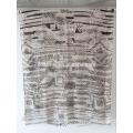 2016 print voile scarf , plain design wholesale pashmina