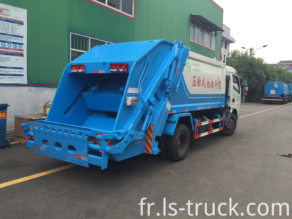 Compactor garbage truck factory (2)