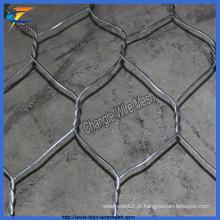 Malha de Gabion de arame de aço de baixo carbono de alta qualidade