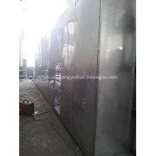 Máquina secadora de cinta de malla de bolas de carbón