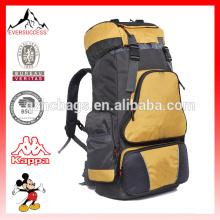 Mochila al aire libre 60L de gran capacidad bolsa doble hombro mochilas de viaje