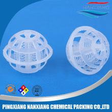 Emballage de tour de boule en plastique de cage