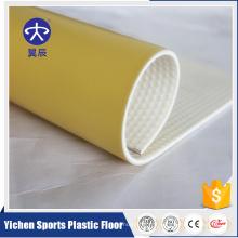 Plancher commercial de vinyle de clic de résistance au feu antidérapage de plancher de PVC