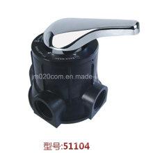 Válvula de filtro manual de múltiples puertos Runxin 51104 F56A