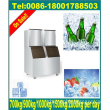 Daily 1500kg Large Ice Cube Makers with Ice Bin (CE, manufacturer price)